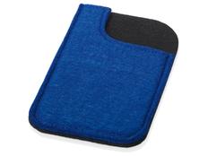 Чехол для телефона из фетра, синий фото