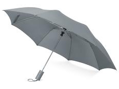 Зонт складной полуавтомат Tulsa, серый фото