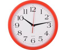 Часы настенные Attendee, красный фото