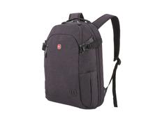 """Рюкзак с отделением для ноутбука 15"""" Swissgear, темно-серый меланж фото"""