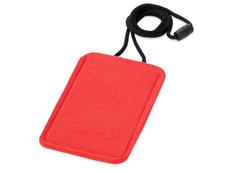 Чехол для телефона на шею на шнурке, красный фото