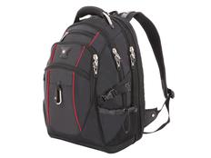 """Рюкзак с отделением для ноутбука 15"""" Swissgear, черный/ красный фото"""