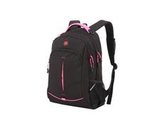Рюкзак Swissgear, черный/ розовый фото