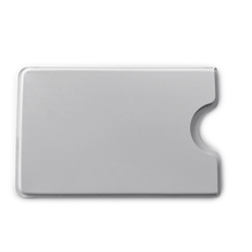 Чехол для кредитной карты пластиковый, белый фото