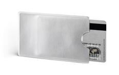 Футляр для кредитной карты NFC, серебристый фото