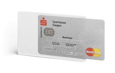 Футляр для кредитной карты NFC, прозрачный фото