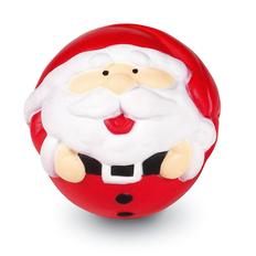 Антистресс Дед Мороз, белый/ красный фото