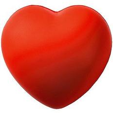 Антистресс Сердце 7,6см, красный фото