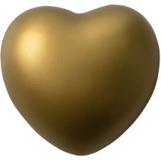 Антистресс «Сердце», золотистый фото