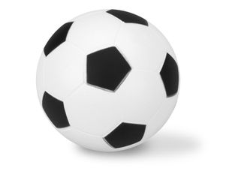 Антистресс Футбольный мяч, белый/черный фото