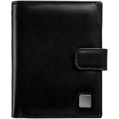 Автобумажник с отделением для паспорта CardLeone, черный фото