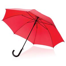"""Зонт трость полуавтомат XD Collection 23"""", красный фото"""