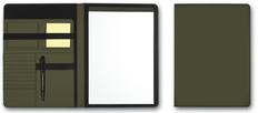 Папка для документов А4 SKUBA, темно-зеленый фото