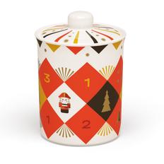 Банка для сладостей «Щелкунчик» в подарочной коробке, разноцветная фото