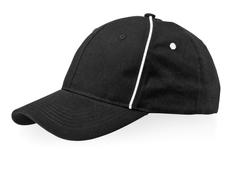 Бейсболка Slazenger Break 6 клиньев, черная фото
