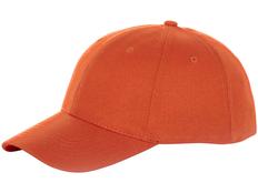 Бейсболка Elevate Bryson 6 клиньев, оранжевая фото