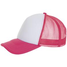 Бейсболка Sol's Bubble, розовый неон/ белая фото