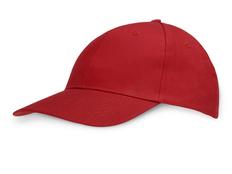 Бейсболка Us Basic Detroit 6 клиньев, красная фото