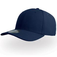 Бейсболка Atlantis Dye Free 6 клиеньев, темно-синяя фото