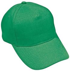 Бейсболка Hit 5 клиньев, зеленый фото