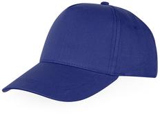 Бейсболка детская US Basic Memphis C, 5 клиньев, синяя фото