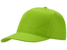 Бейсболка Mix 5 клиньев, зеленое яблоко фото