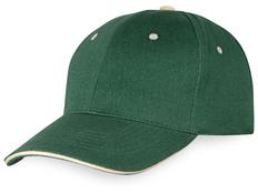 Бейсболка New Castle 6 клиньев, зеленый фото