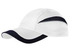 Бейсболка Slazenger Qualifier 6 клиньев, белая/ темно-синяя фото