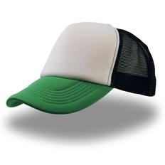 Бейсболка Atlantis Rapper 5 клиньев, зеленая/ белая фото