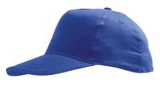 Бейсболка SUNNY, ярко-синяя фото