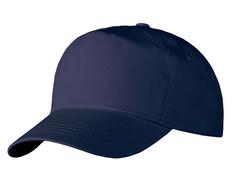 Бейсболка Unit Promo, темно-синяя фото