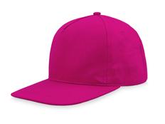 Бейсболка US Basic Poly, розовая фото