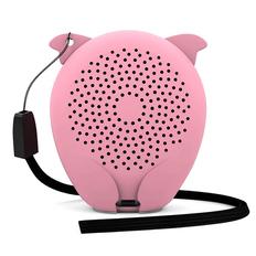 Колонка беспроводная Hiper Zoo Lily Pig, розовая фото