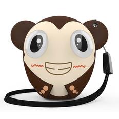Колонка беспроводная Hiper Zoo Monkey, коричневая фото