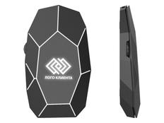 Мышь беспроводная Xoopar Geo Mouse Plus, черная фото
