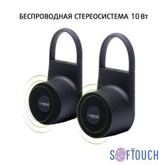 Колонки беспроводные стерео Chili Lann, черные фото
