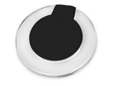 Зарядное устройство беспроводное Pod со светодиодной подсветкой, прозрачный/ черный фото