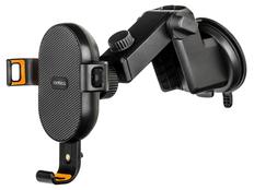 Беспроводное зарядное устройство в автомобиль Rombica NEO Clip, чёрное фото