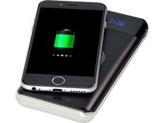 Внешний аккумулятор беспроводной Avenue Constant, 10000 mAh, черный фото
