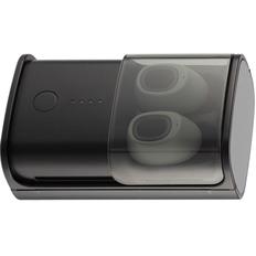 Наушники беспроводные внутриканальные затычки с зарядным кейсом футляром TWS Indivo inSider, темно-серые фото