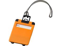 Бирка багажная Taggy, светло оранжевый фото