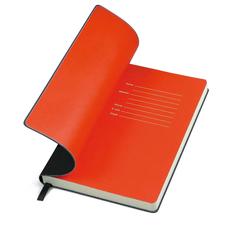 Бизнес-блокнот в линейку thINKme Funky А5, 256 стр., черный/ красный фото