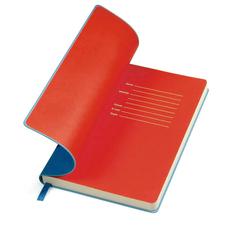 Бизнес-блокнот в линейку thINKme Funky А5, 256 стр., синий/ красный фото