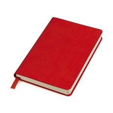 Бизнес-блокнот в линейку thINKme Urban А5, 256 стр., красный фото