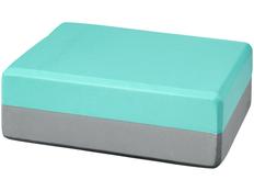 Блок для йоги Lahiri, бирюзовый фото