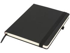 Блокнот в линейку на резинке Rivista А4, 128 листов, черный фото