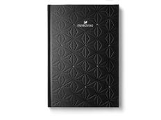 Блокнот А5, черный с кристаллами Swarovski фото