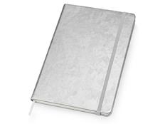 Блокнот на резинке Lettertone Stucco А5, 96 листов, серый фото