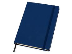 Блокнот в линейку на резинке Lettertone Vision А5, 80 листов, синий фото