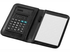 Блокнот с калькулятором Smarti А6, 20 листов, черный фото